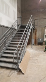 Stairs to future Upper Level access
