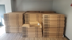 CREE LED fixtures have arrived