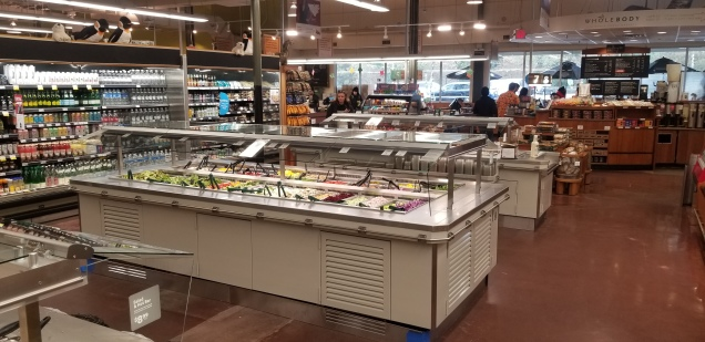 Hot bar replacement at Raleigh store